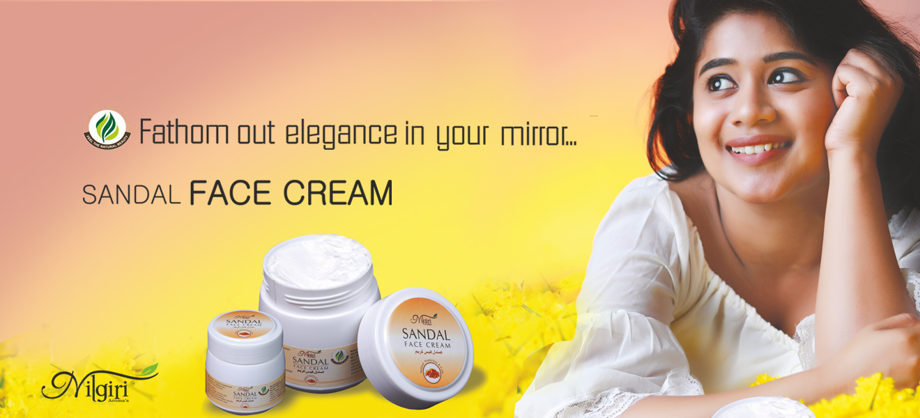 Sandal Fairness Face cream